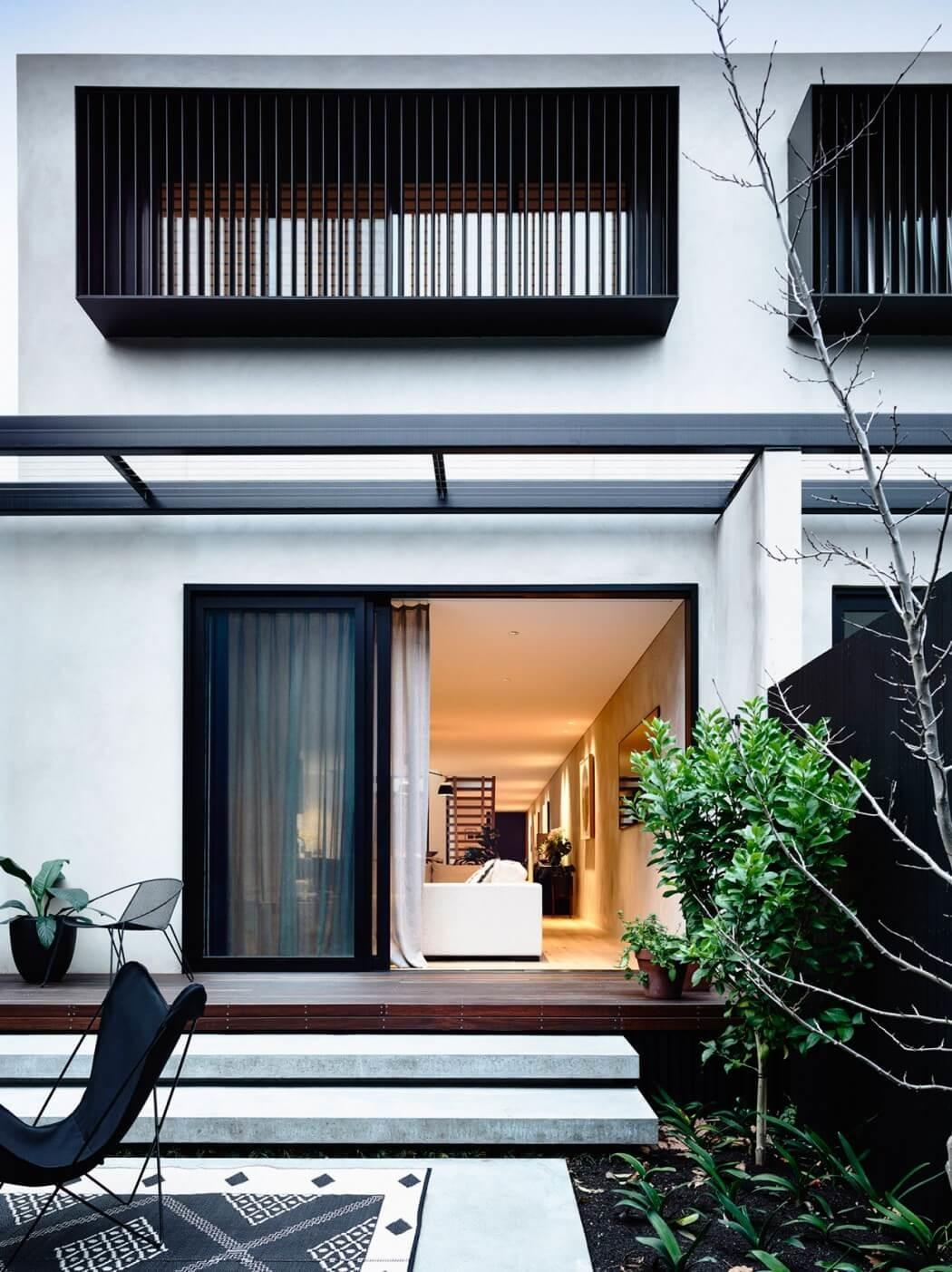 Innovative Modern Townhouse Yoga Studio Elwood That Will Enhance Your Exterior Beautiful Pictures Decoratorist