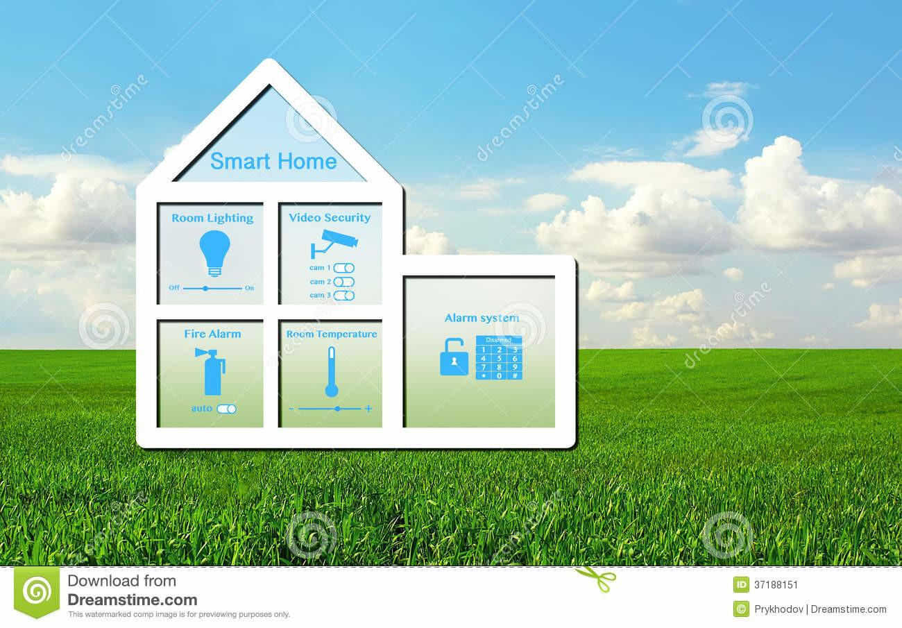 House Smart Home System Green