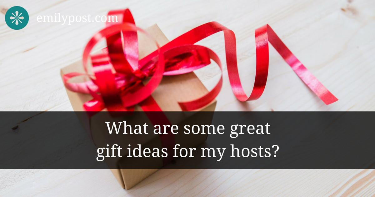 Houseguest Thank Gift Ideas Emily Post Institute