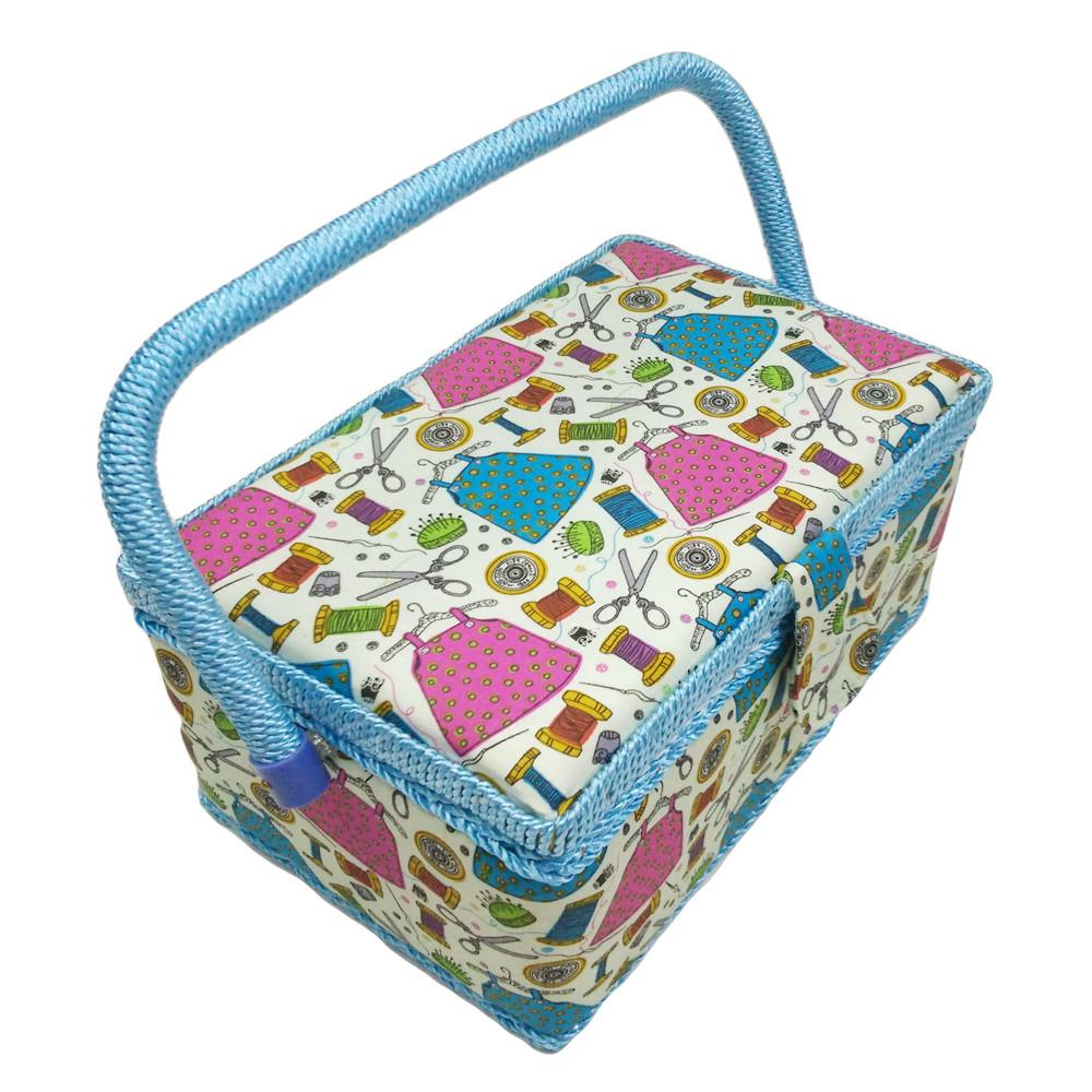 Household Storage Box Cotton Fabric Crafts Sewing