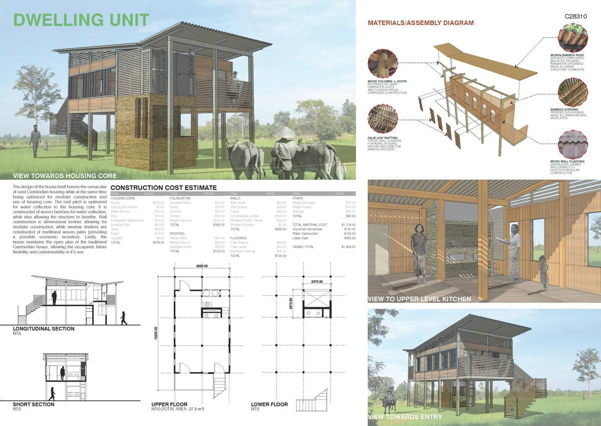 Housing Core Cambodian Sustainable Competition