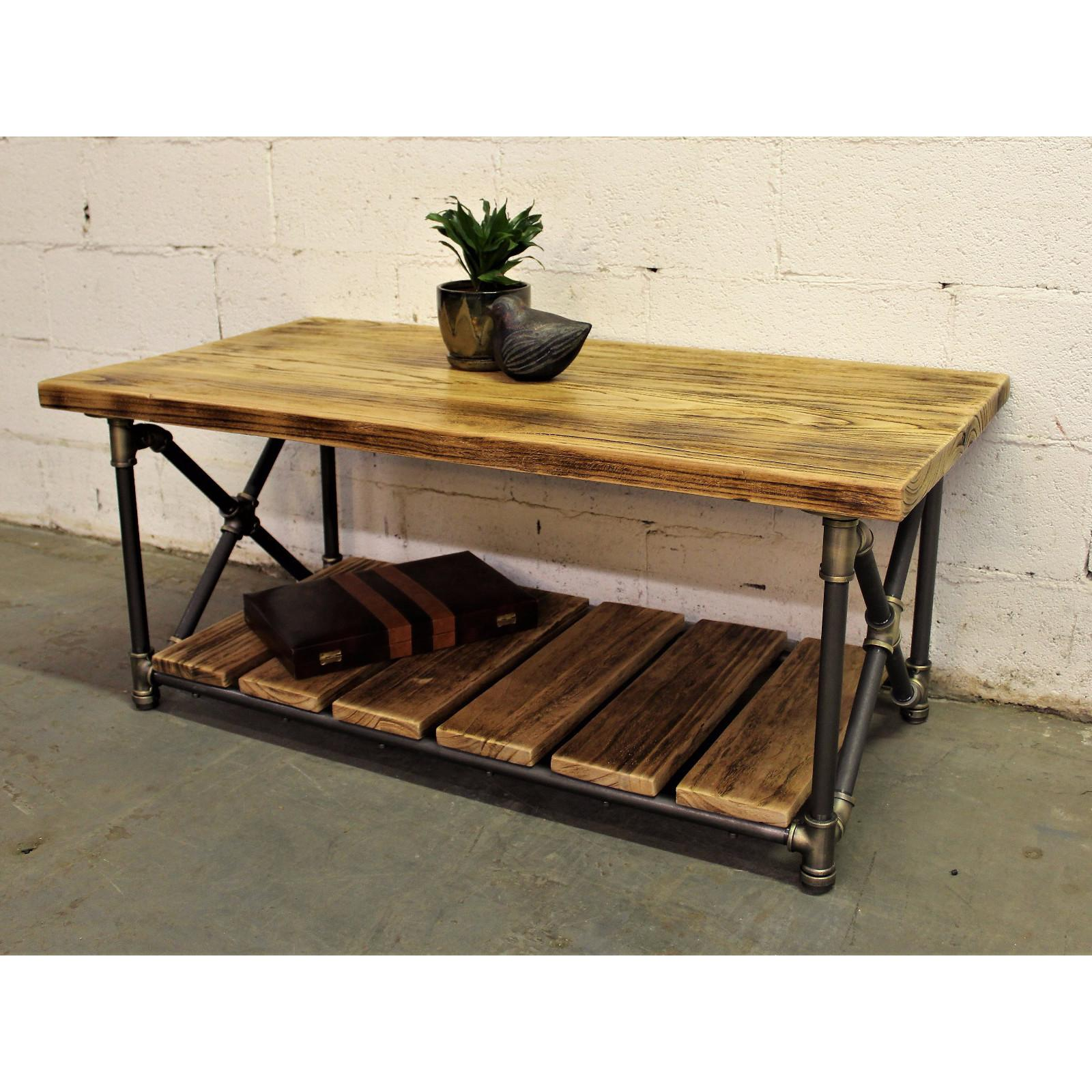 Houston Industrial Chic Coffee Table Roost Galley