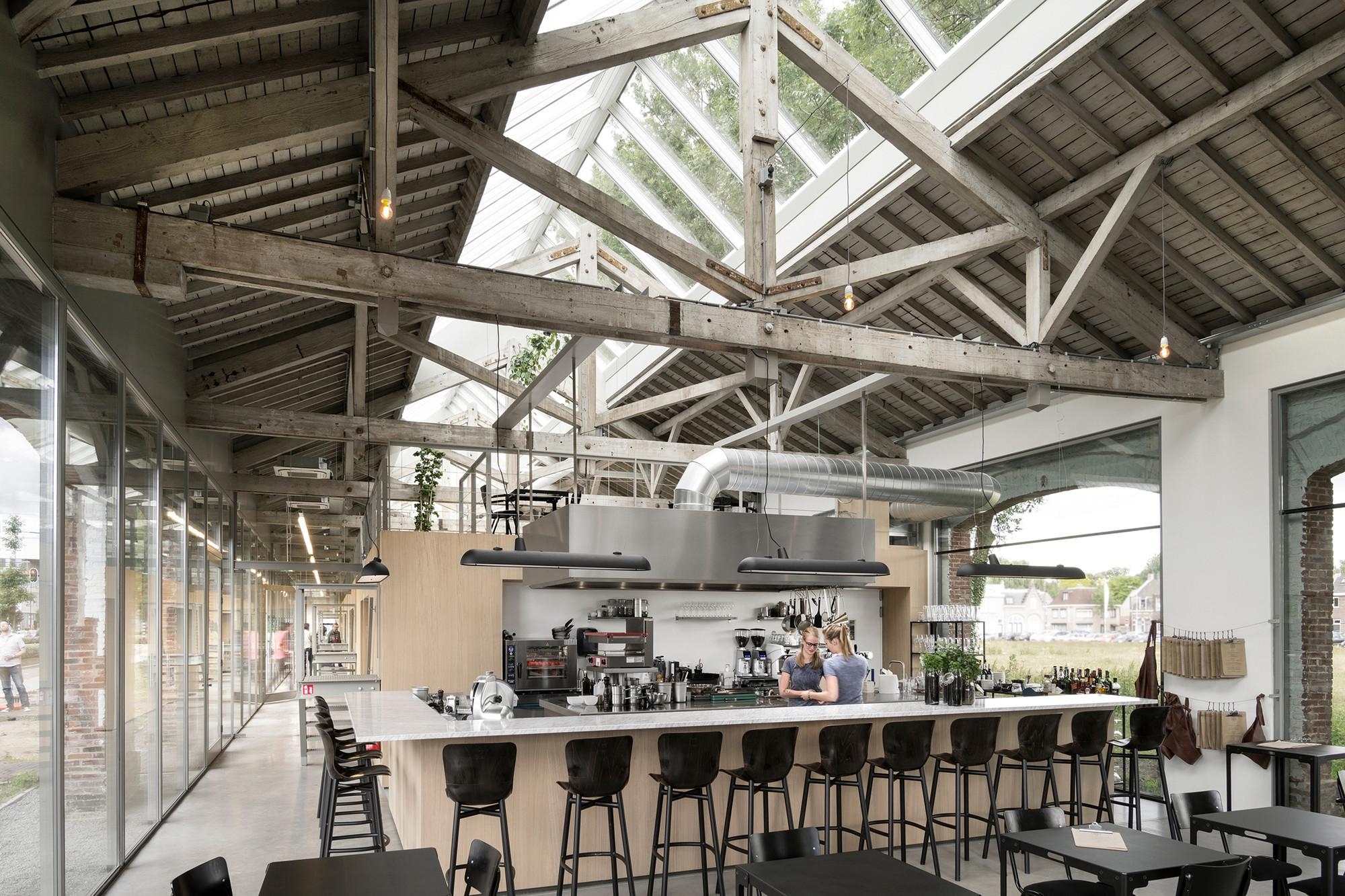 Houtloods Bedaux Brouwer Architects