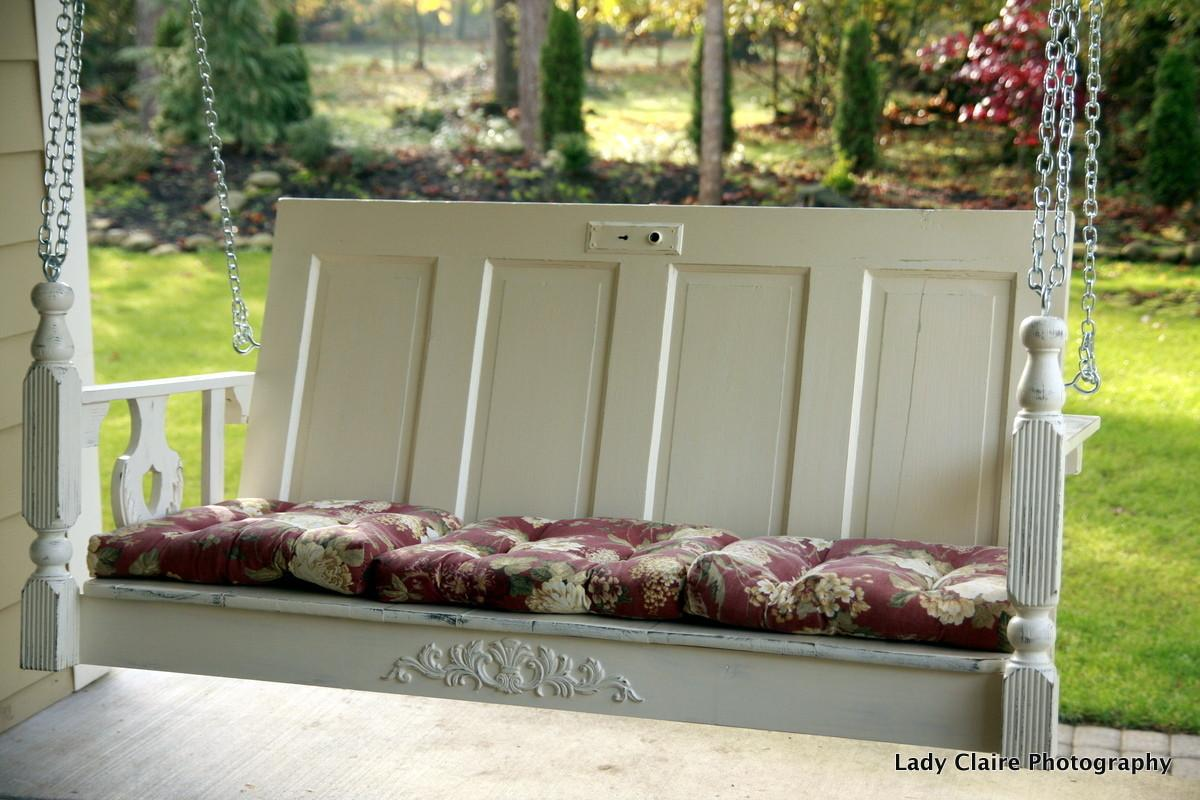 Huckleberry Lane One Kind Porch Swing