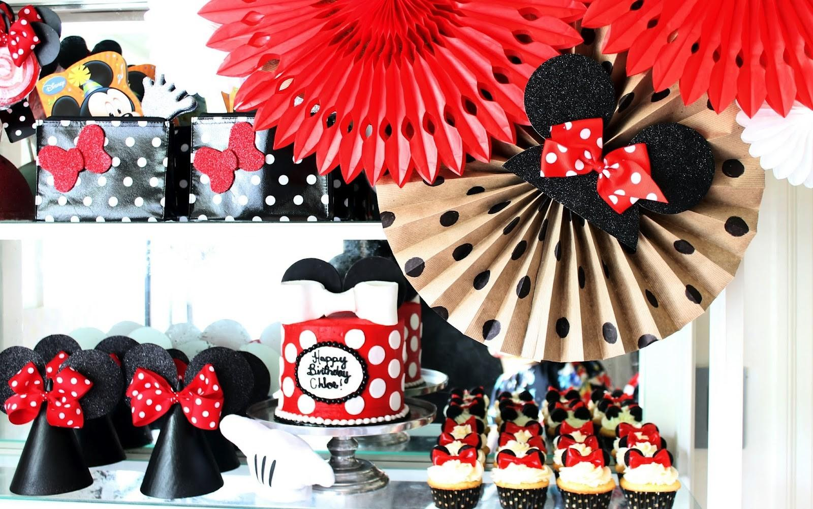 Hunted Interior Minnie Mouse Birthday Party