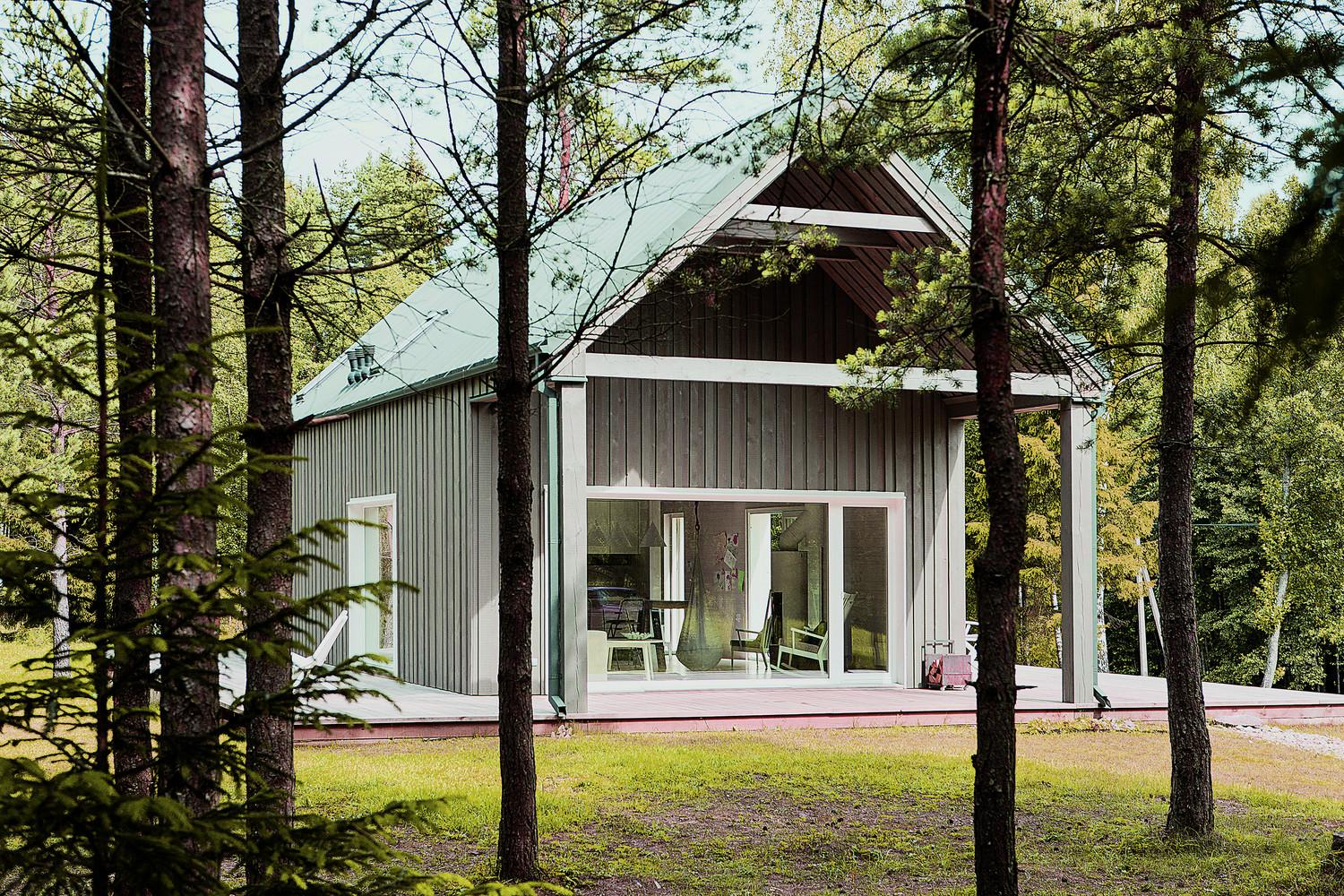 Hunting House Surrounded Woods Lithuania Your