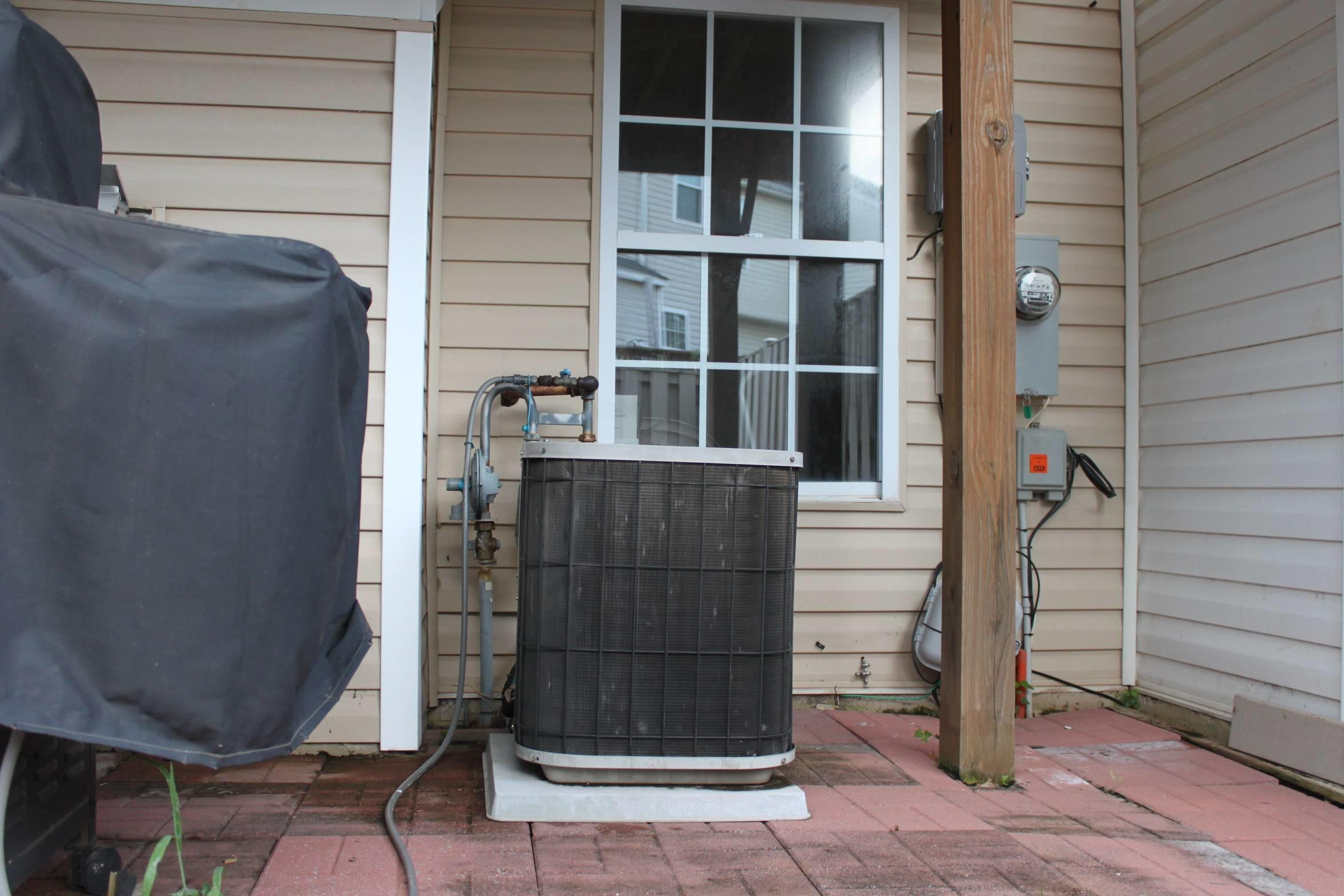 Hvac Need Level Outdoor Cooling Unit