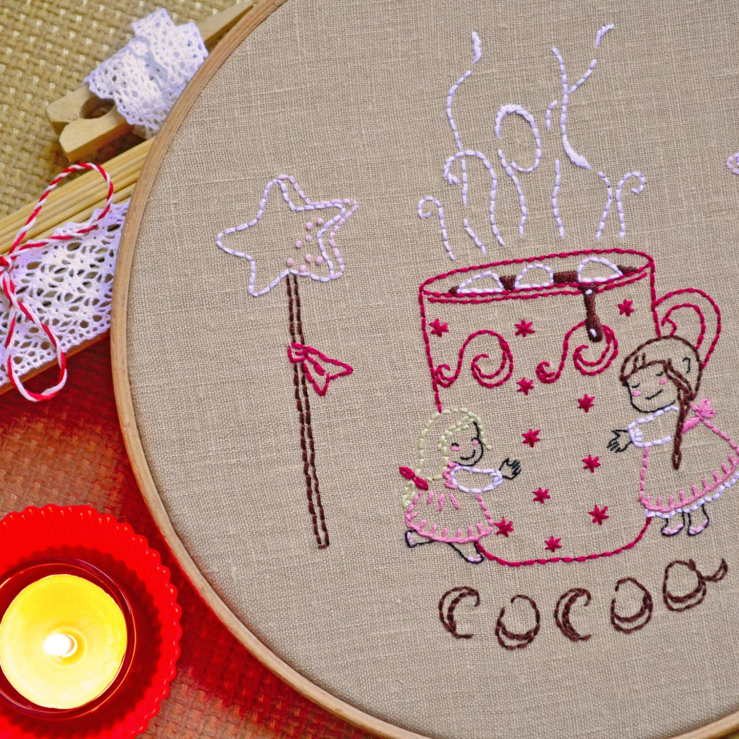 Hygge Diy Christmas Gifts Hand Embroidery Patterns