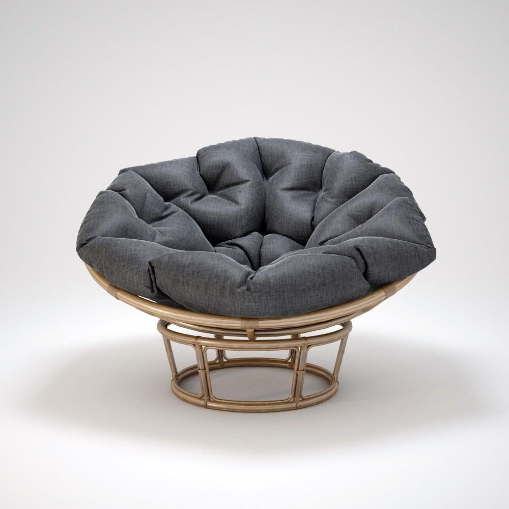 I3dbox Papasan Rattan Chair