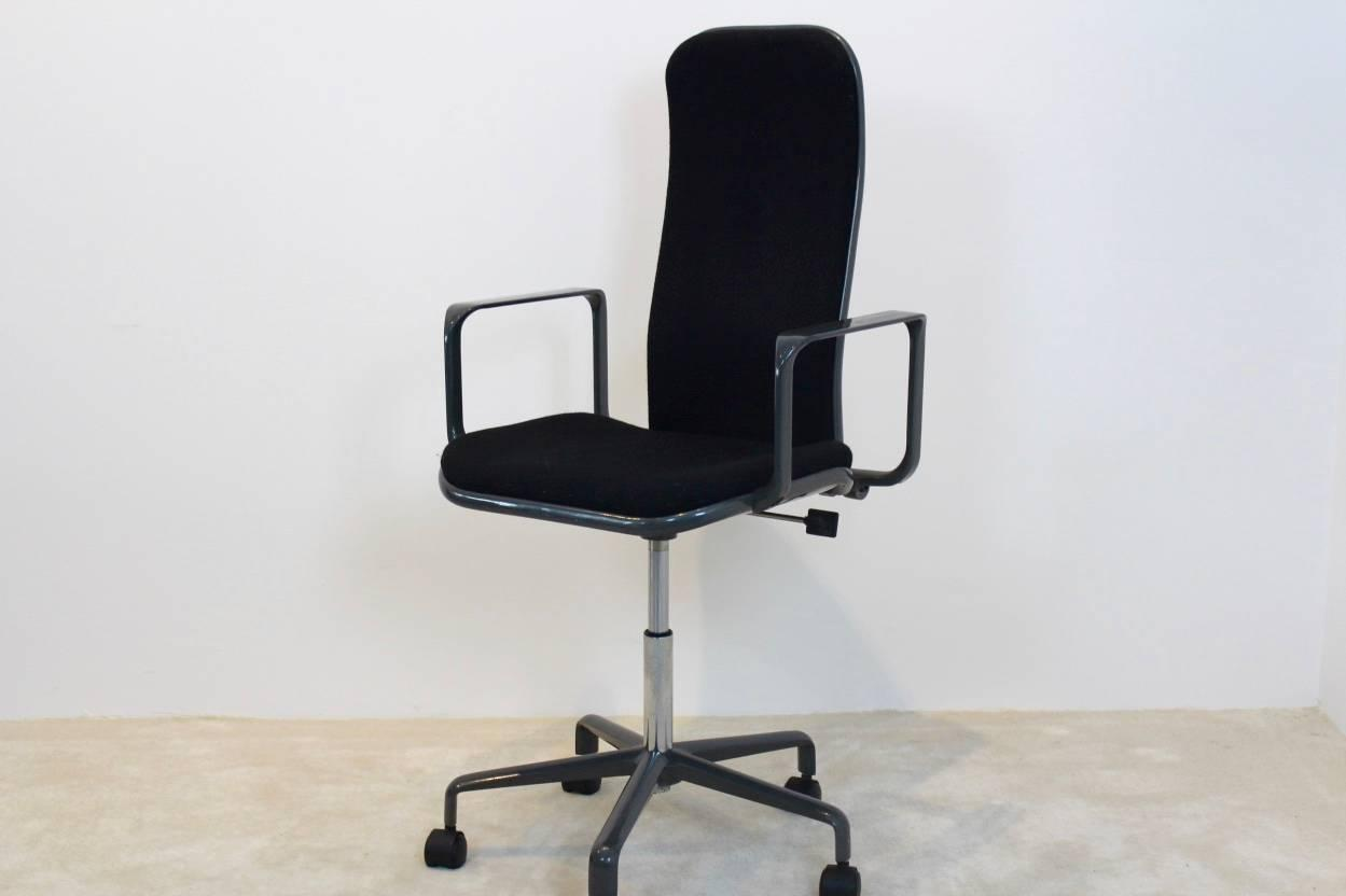 Iconic High Back Supporto Chair Frederick Scott