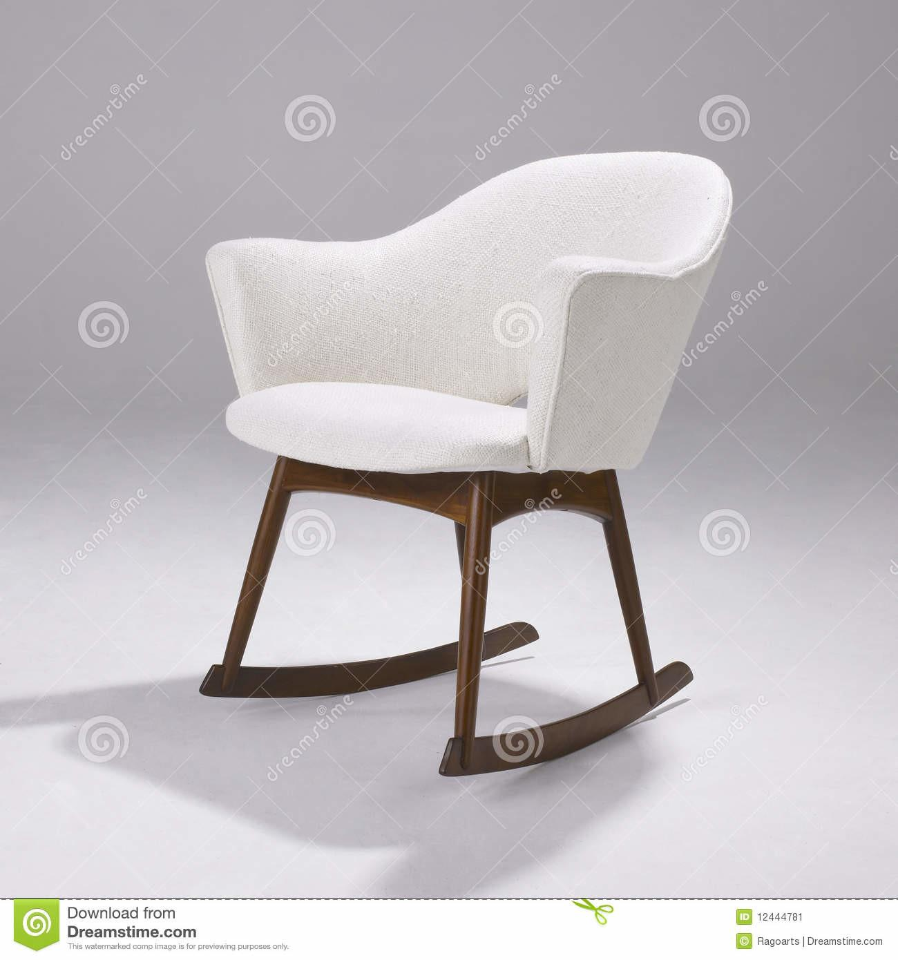 Iconic Modern Design Rocking Chair Editorial