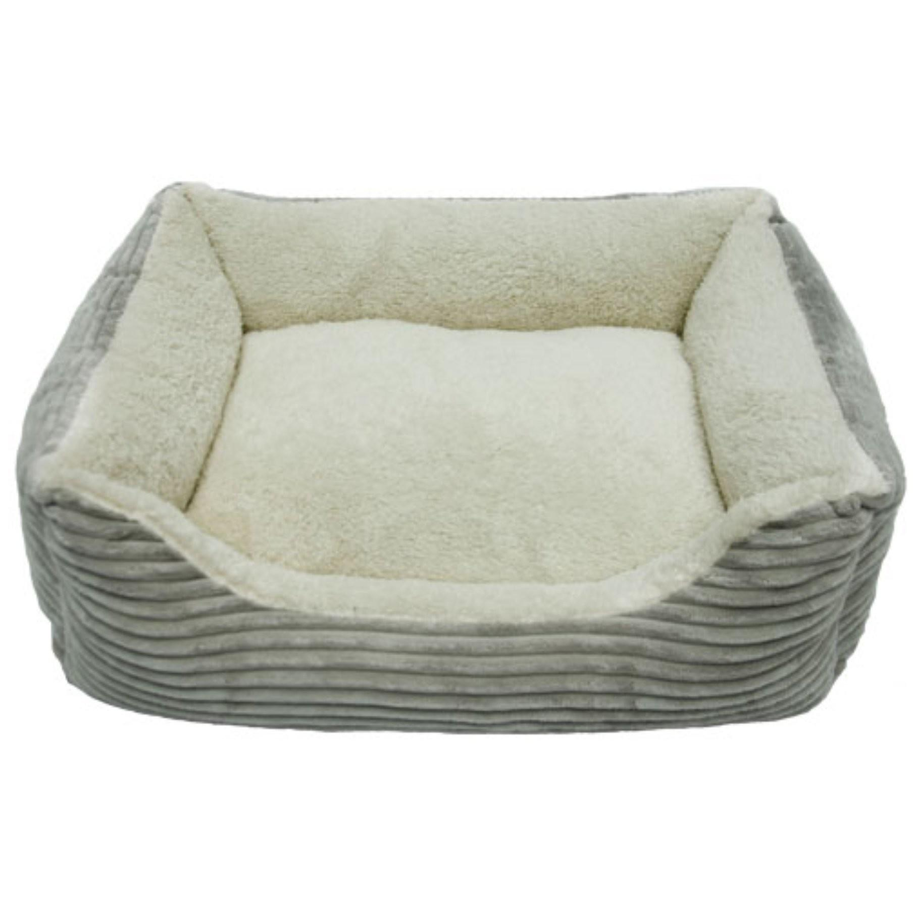 Iconic Pet Luxury Lounge Bed Light Gray