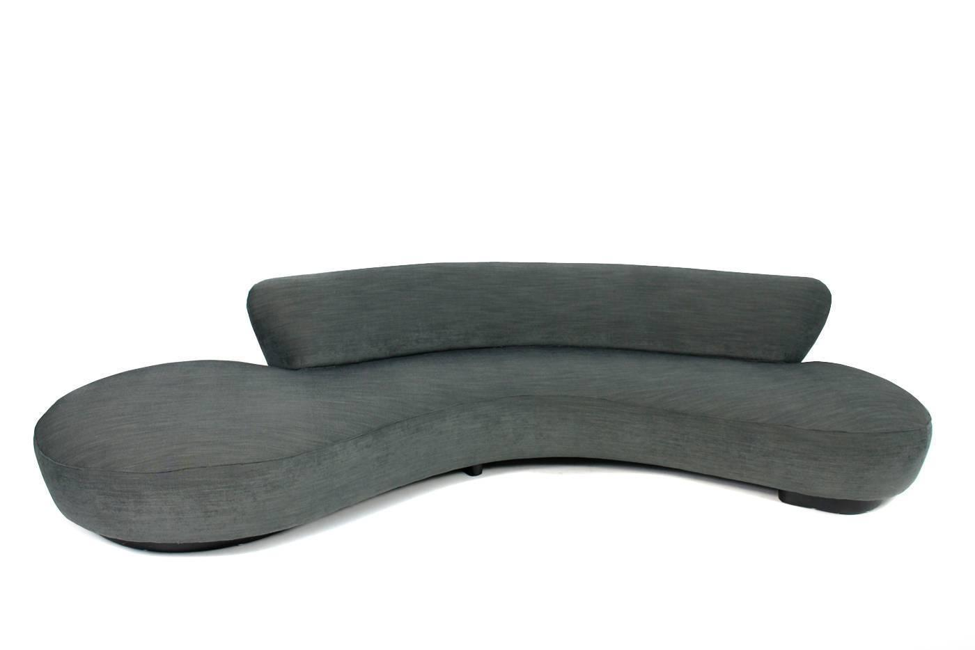 Iconic Serpentine Sofa Vladimir Kagan Circa 1980