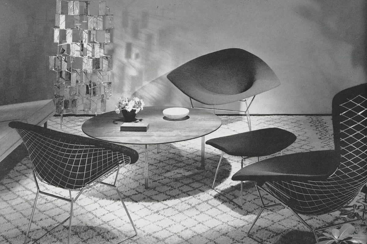 Iconic Wire Chair Harry Bertoia Making