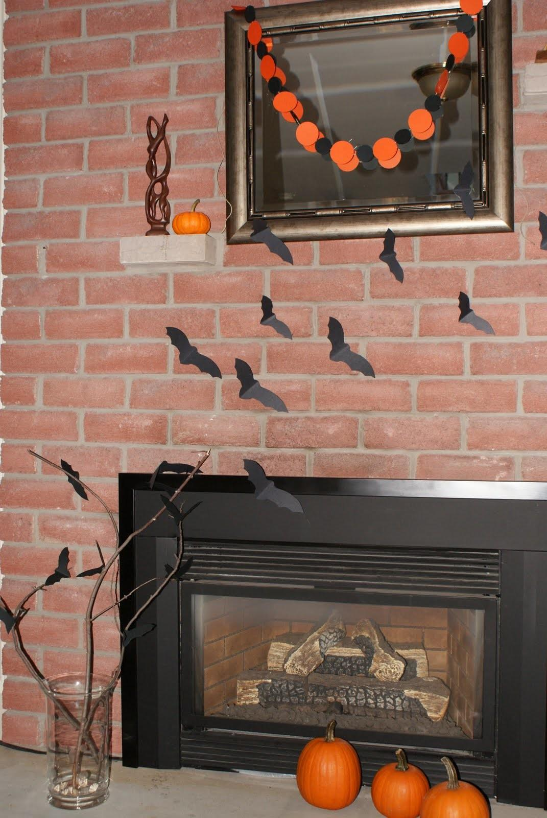 Ideal Accents Designs Halloween Mantel
