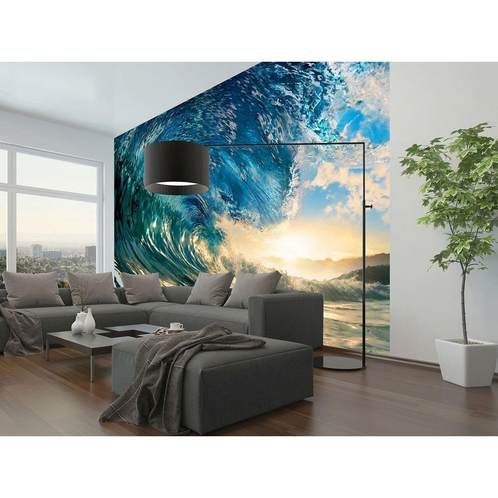 Ideal Decor 144 100 Perfect Wave Wall