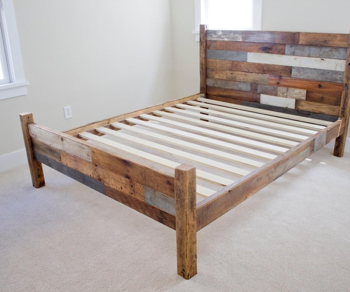 Ideal Upcycled Pallet Bed Headboard Ideas Pallets