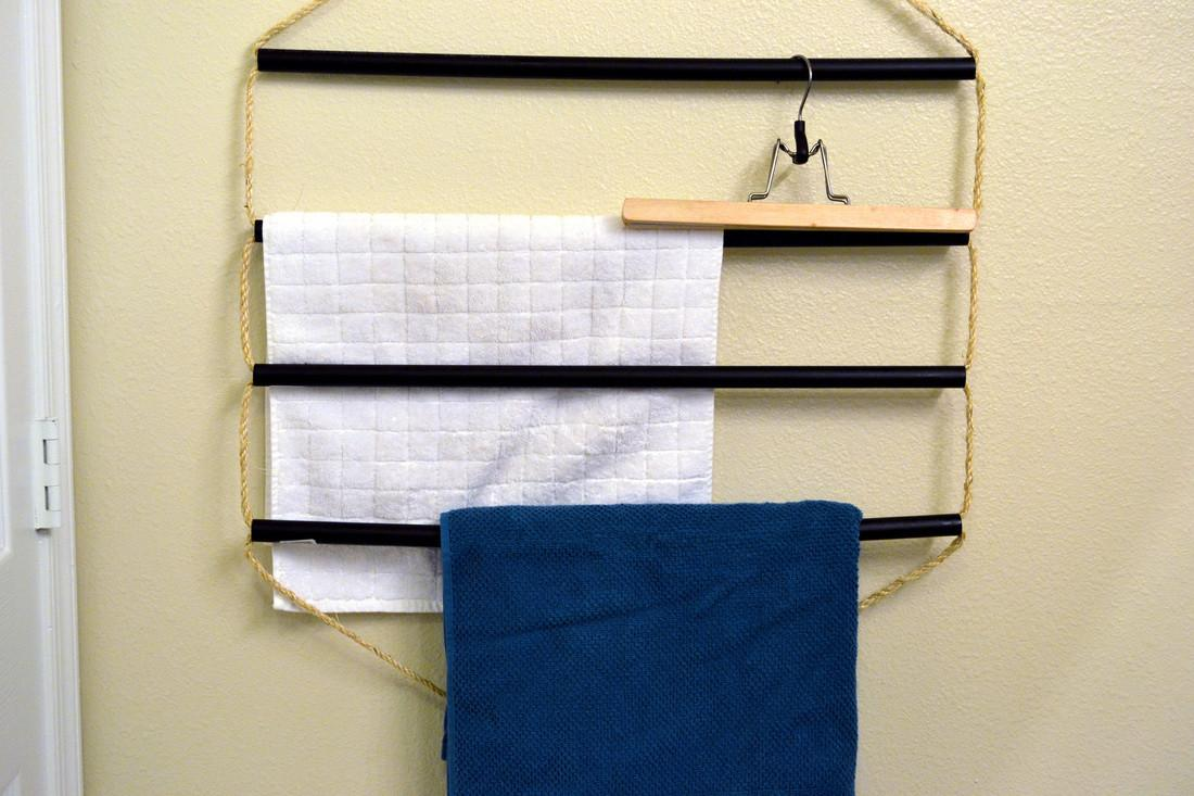 Ideas Bathroom Towel Rack Design