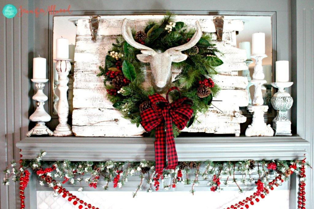 Ideas Christmas Mantel Decor Worth Remembering