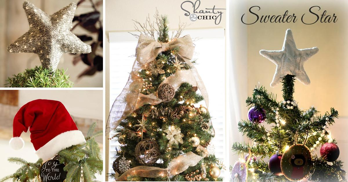 Ideas Christmas Tree Toppers Can Reinvigorate