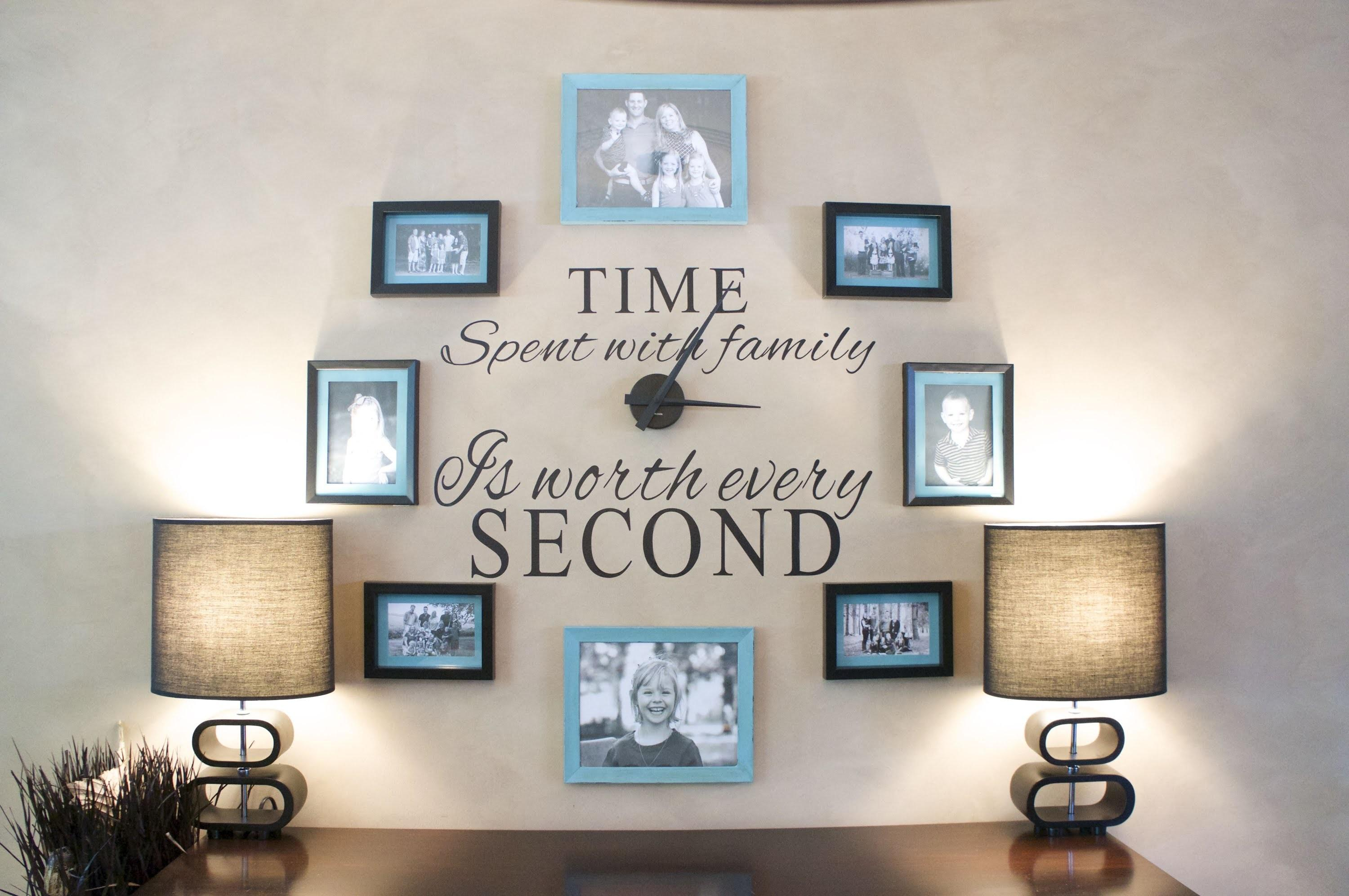 Ideas Create Family Feature Wall Papertostone