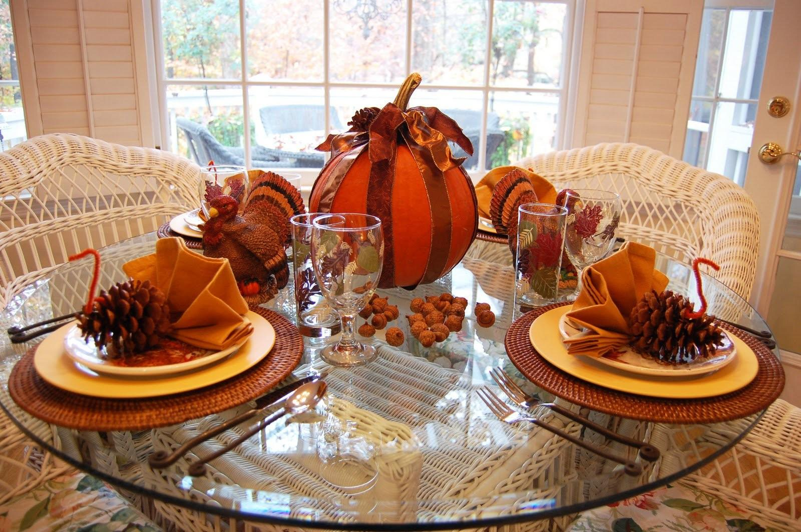 Ideas Decorate Thanksgiving Day