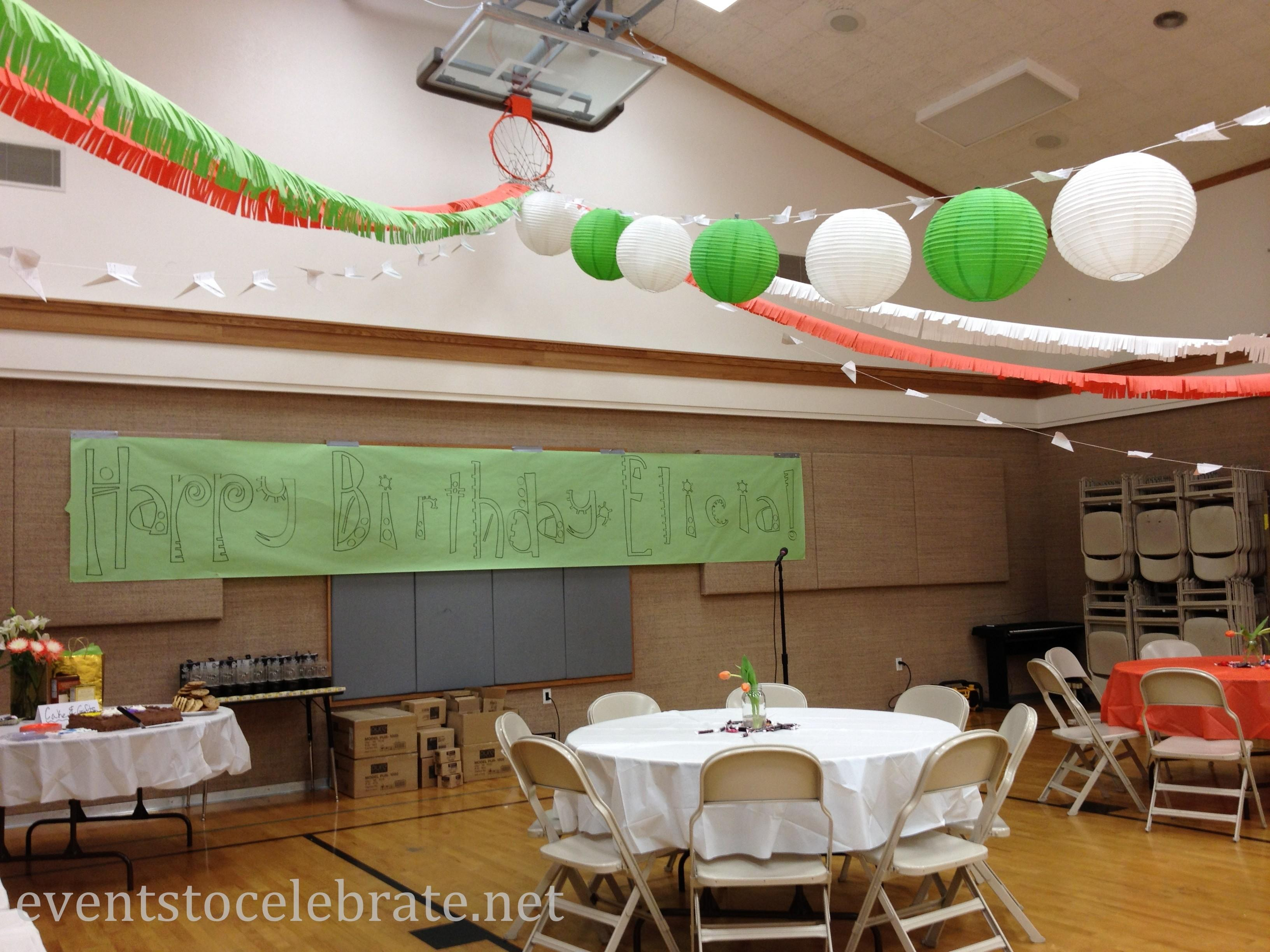 Ideas Decorating Large Spaces Events Celebrate