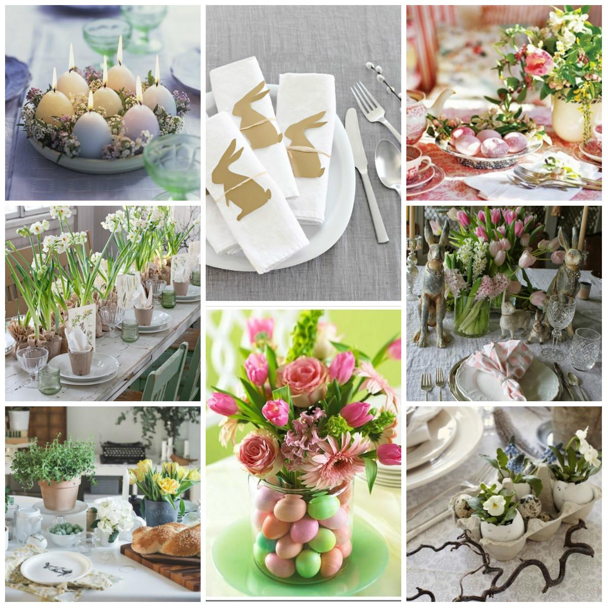 Ideas Easter Table Serving