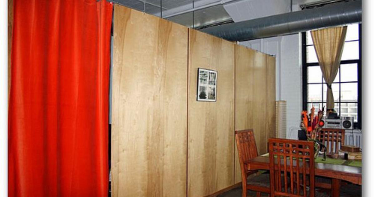 Ideas Fabric Room Dividers Ehow