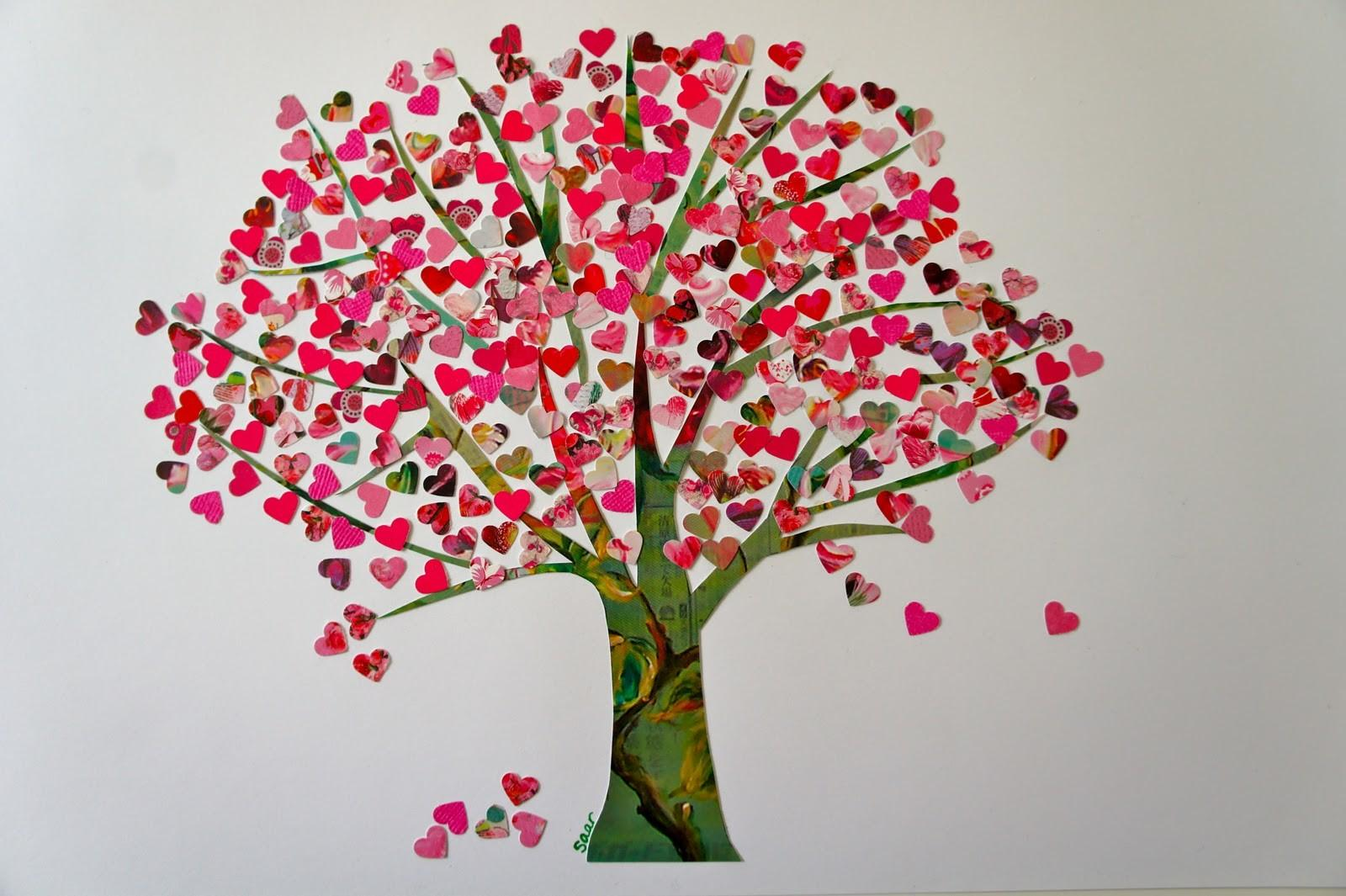 Ideas Forest Tree Hearts Valentine Edition