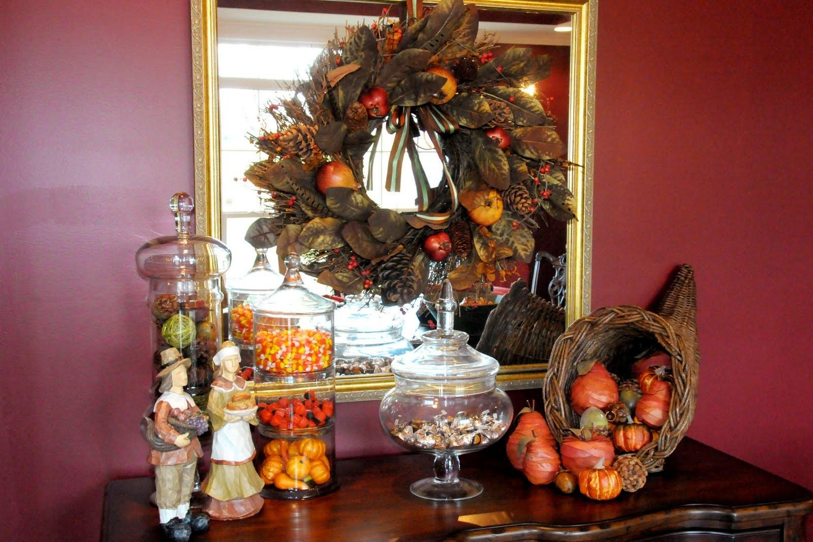 Ideas Inspirational Thanksgiving Dining Table Decorating