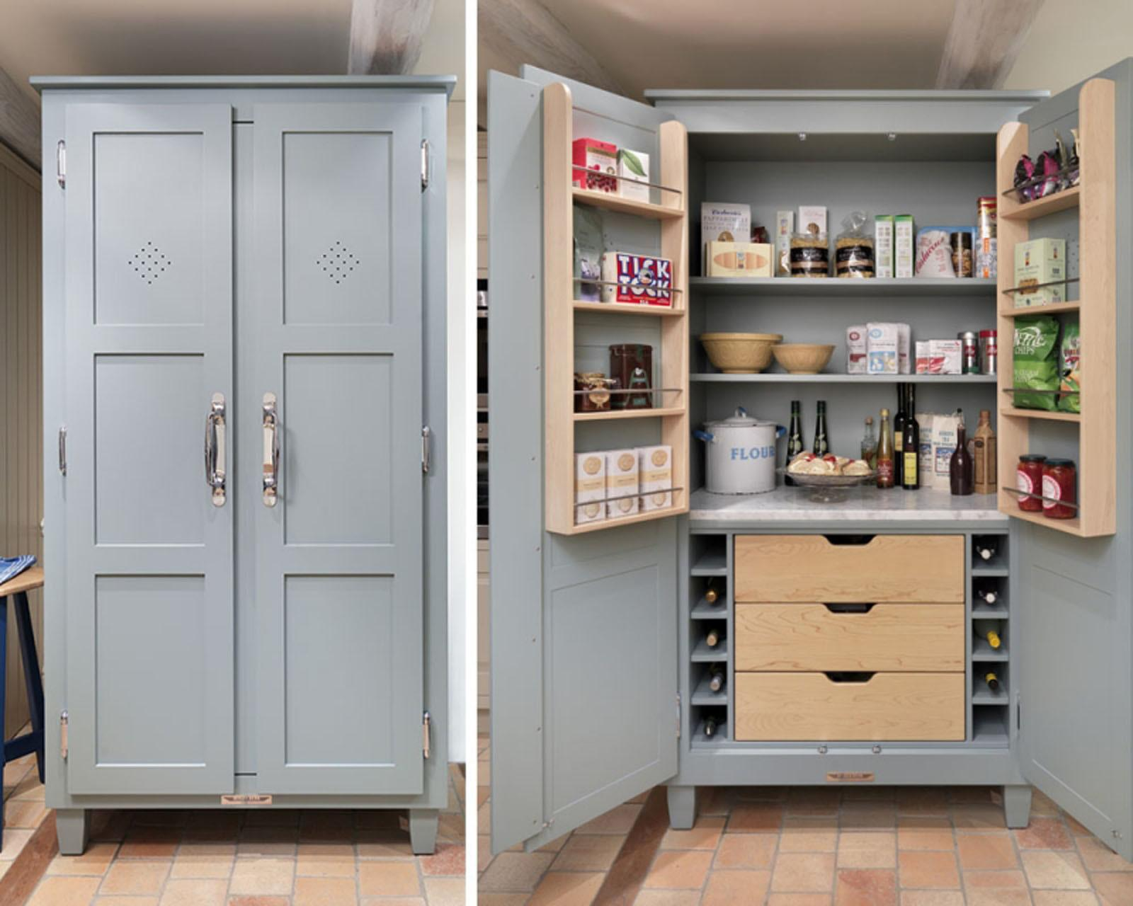 Ideas Kitchen Pantry Designs Rafael