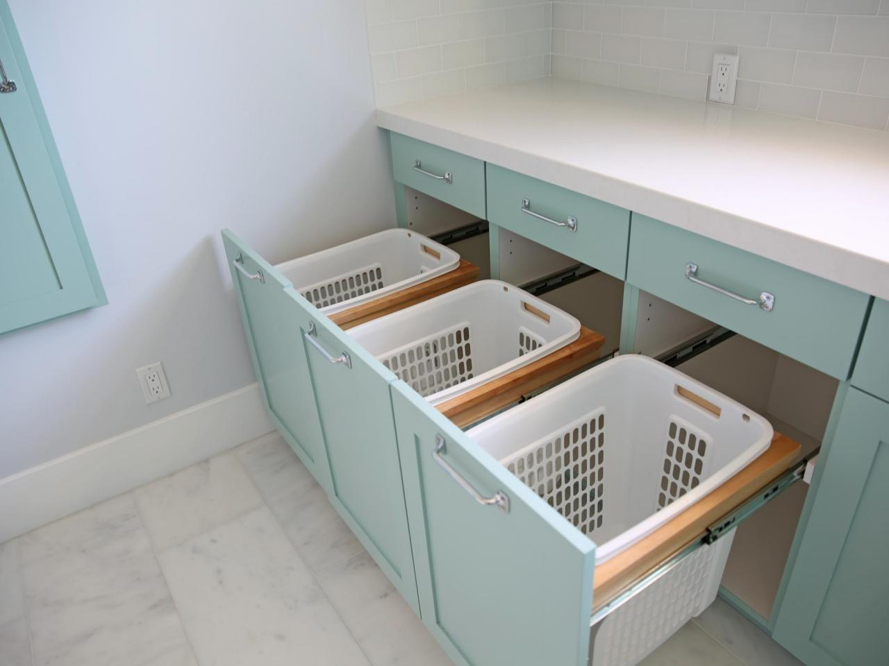 Ideas Laundry Room Cabinets Storage Solutions