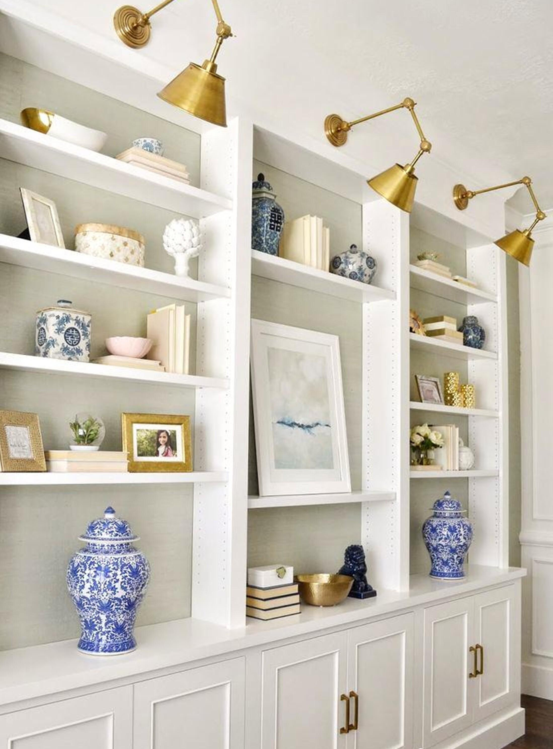 Ideas Library Bookcase Lighting