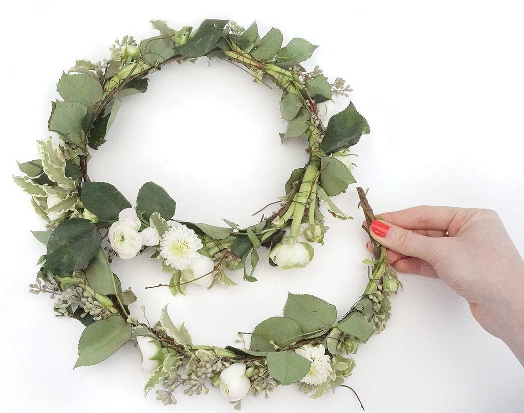 Ideas Make Your Greenery Flower Crown Look Amazing