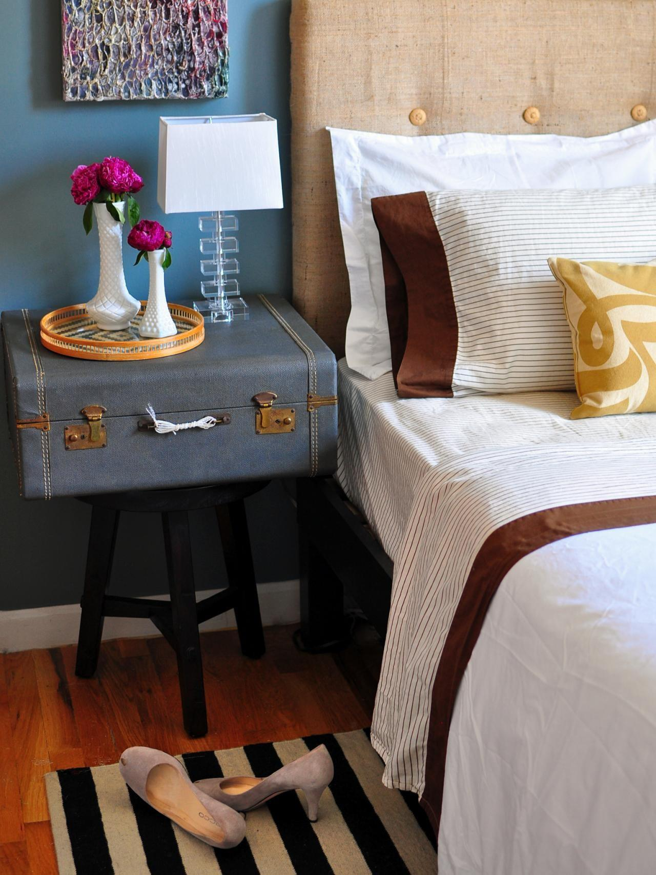 Ideas Nightstand Alternatives Diy Home Decor