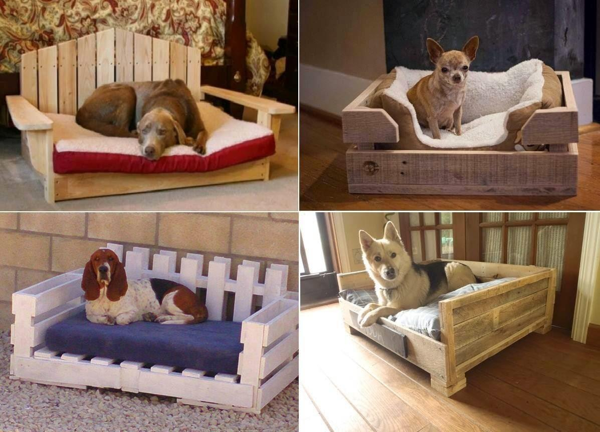 Ideas Products Diy Pallet Dog Bed