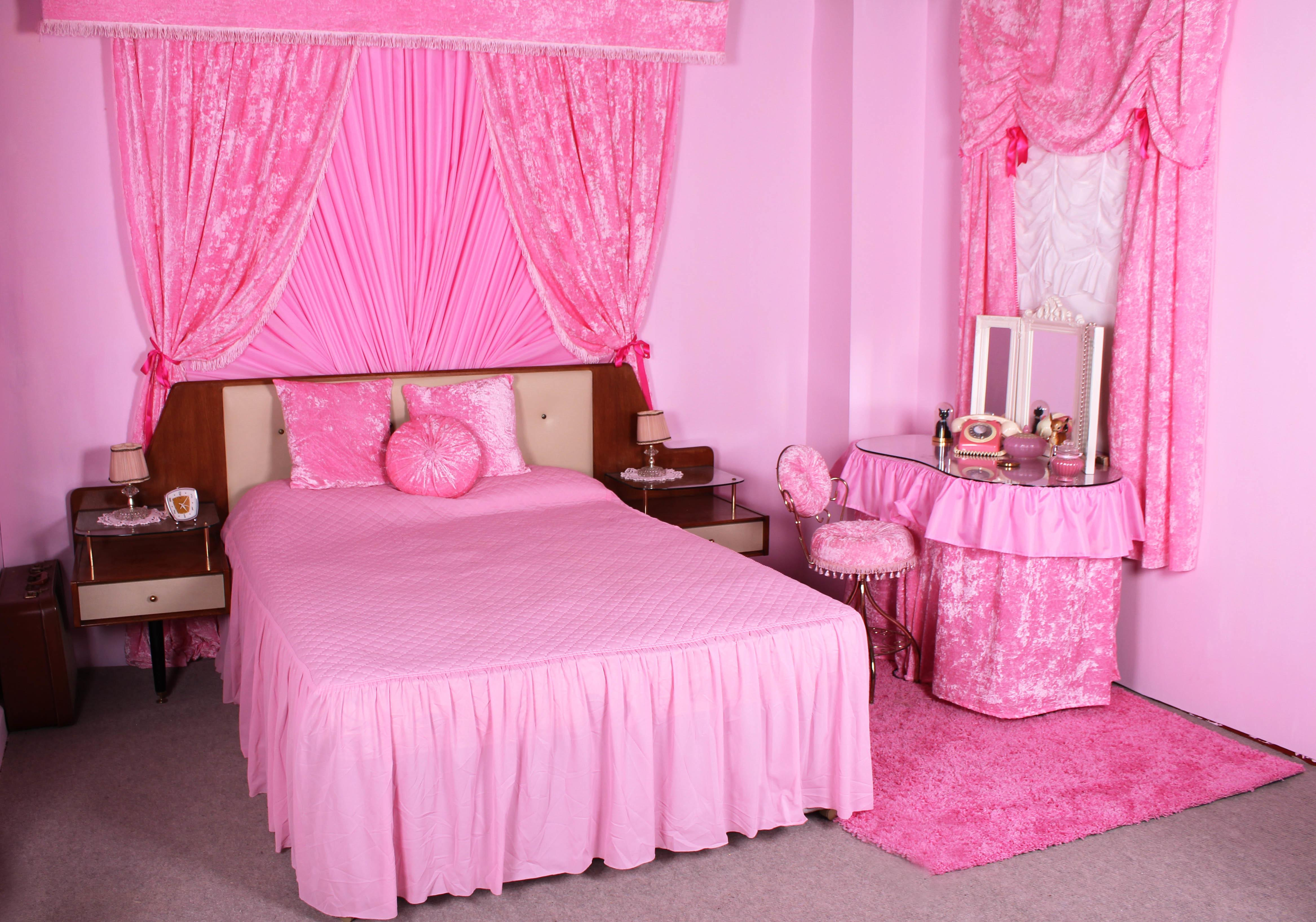 Ideas Stylish Pink Bedrooms Girls