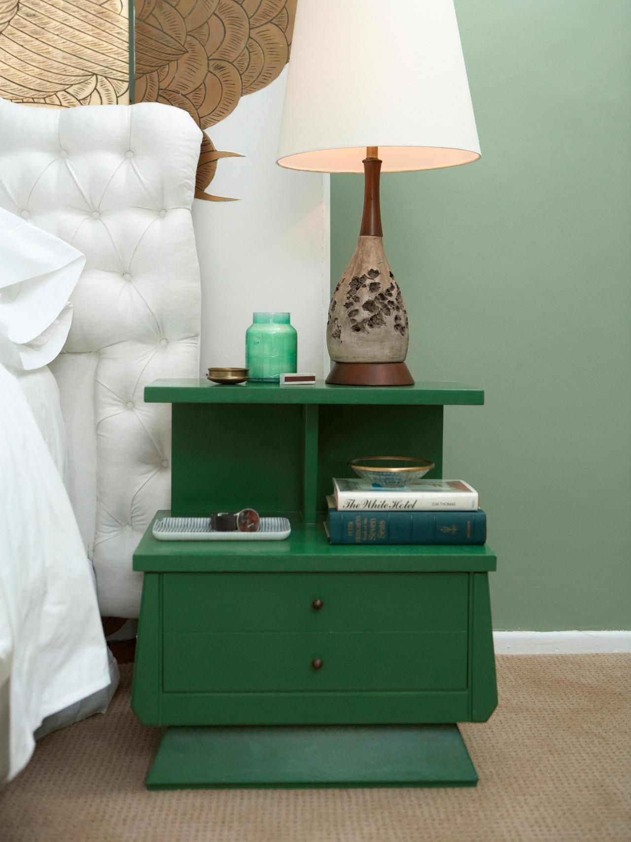 Ideas Updating Old Bedside Tables Diy Home Decor