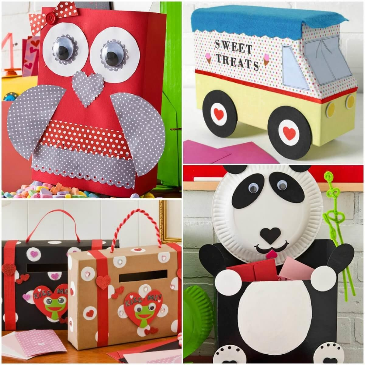 Ideas Valentine Boxes Mod Podge Rocks
