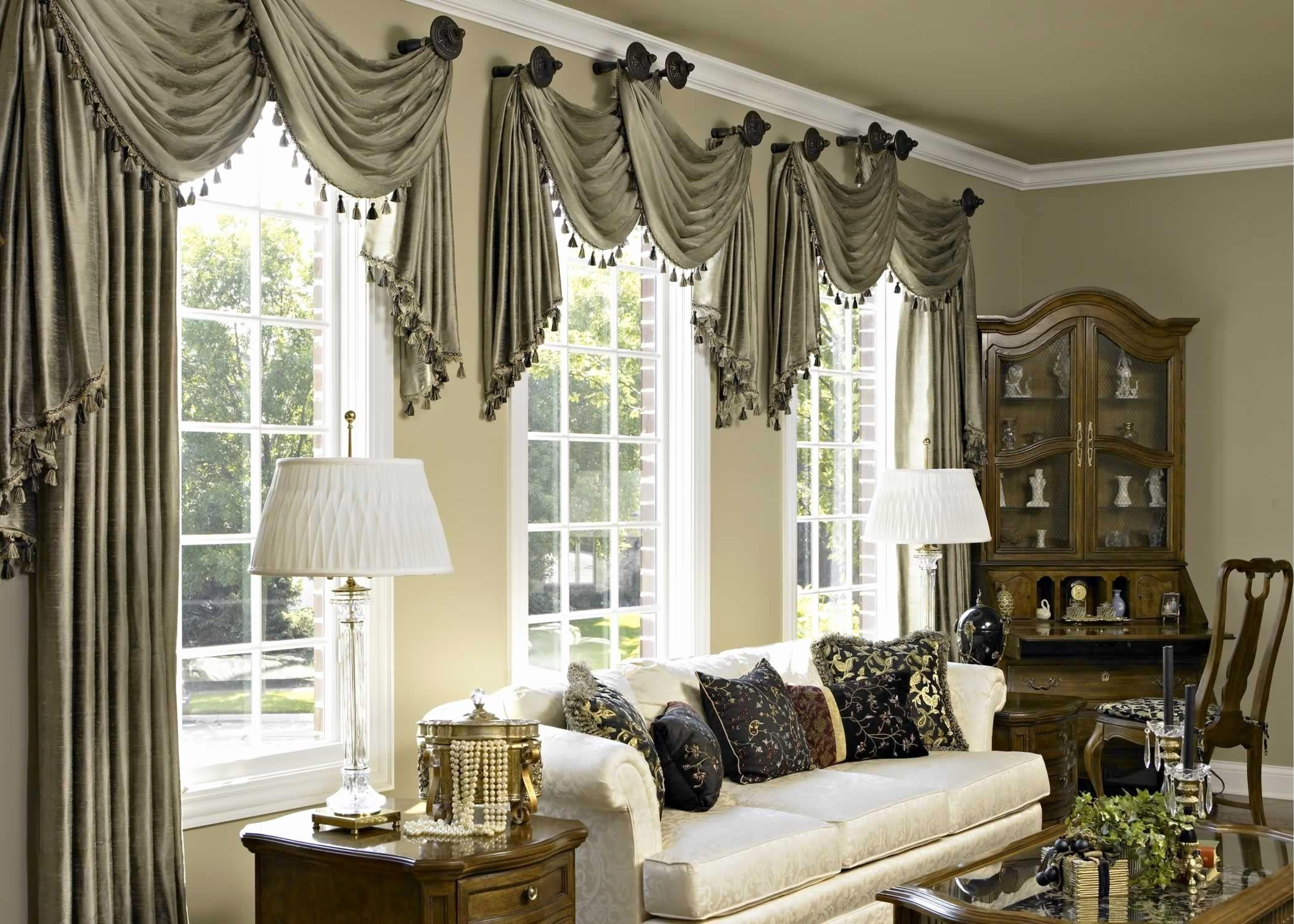 Ideas Window Treatments Living Rooms Inspirational