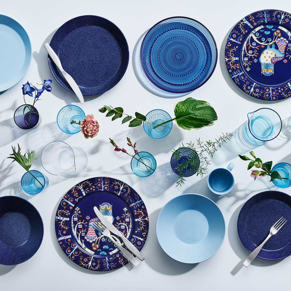 Iittala Teema Dotted Blue Dinnerware New Arrivals