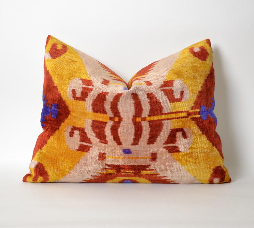 Ikat Pillow Case Decorative Pillows Couch Sofa Pillowme