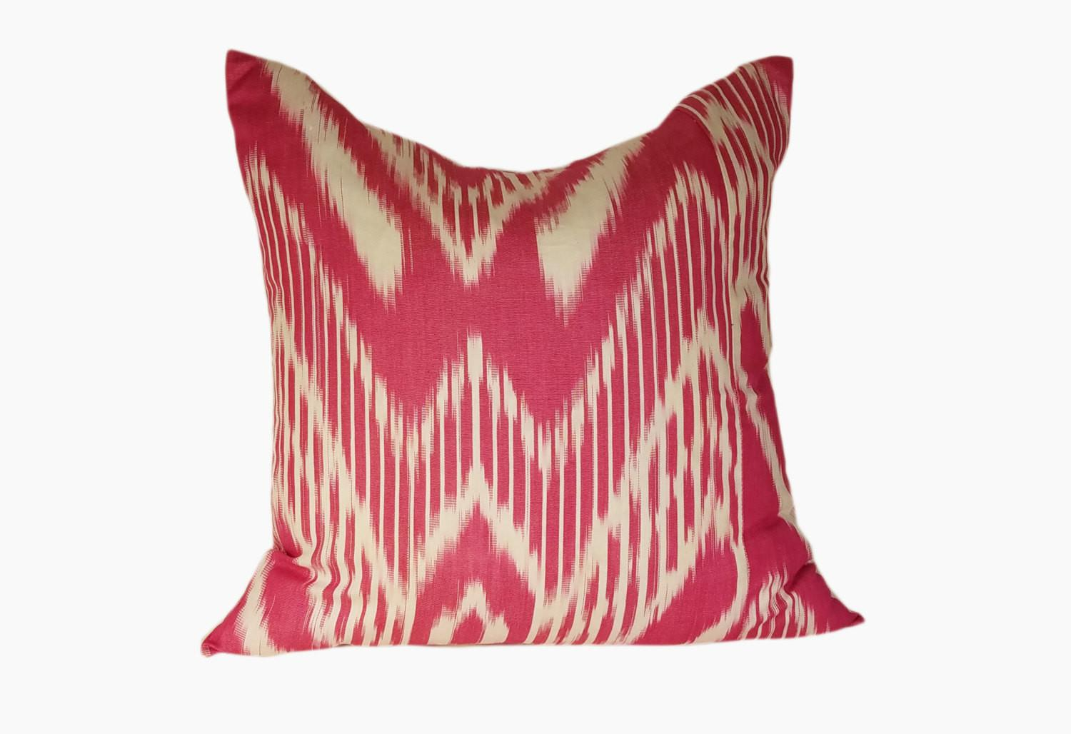 Ikat Pillow Cover Throw Pillows Designer