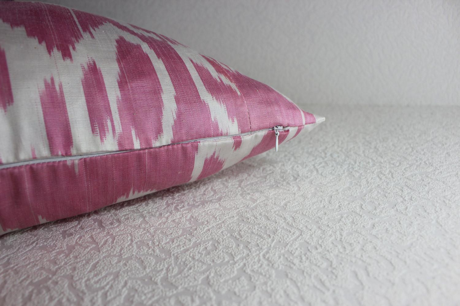 Ikat Pillow Handmade Cover S114 Throw