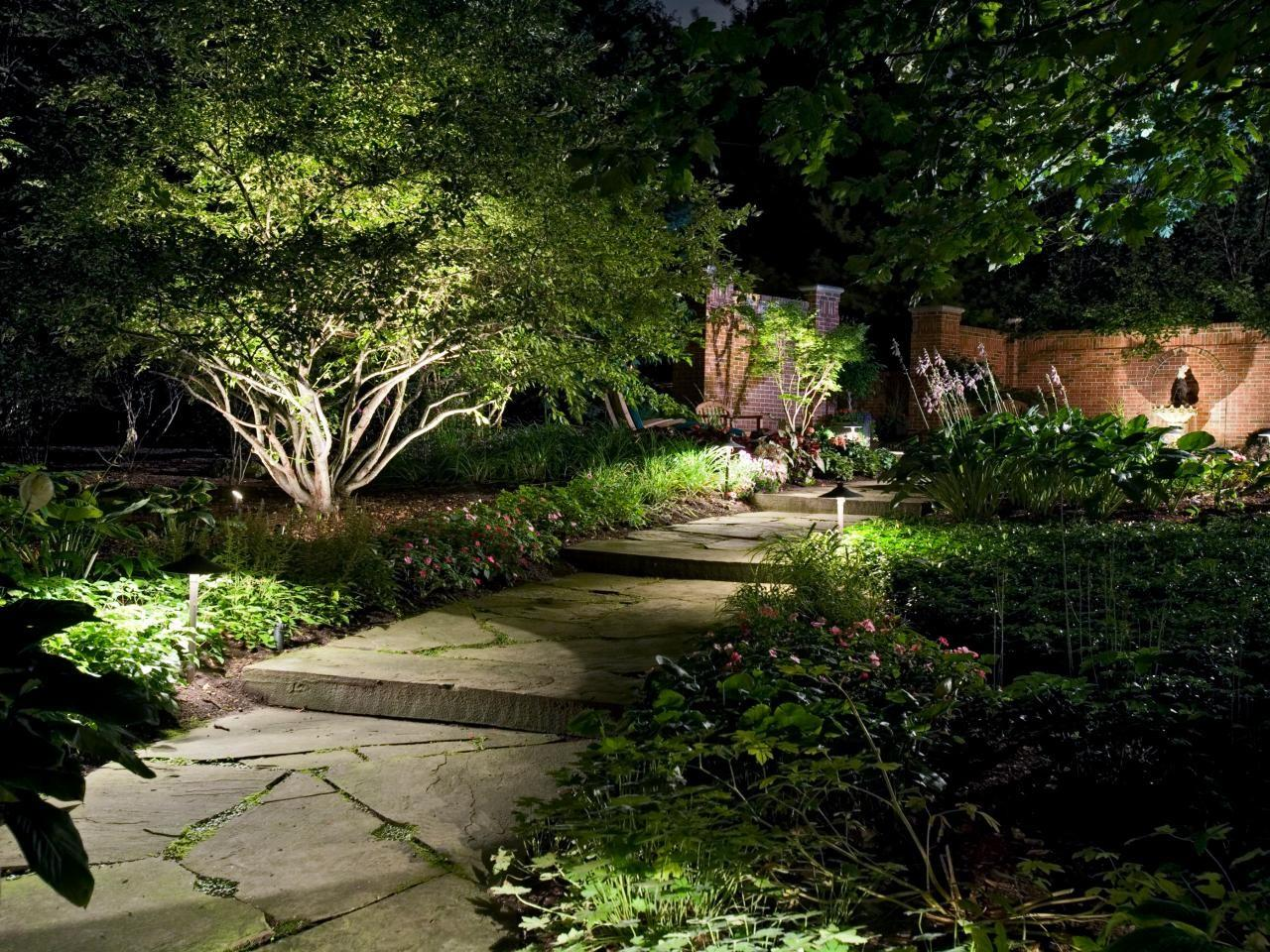 Illuminate Your Yard Landscape Lighting