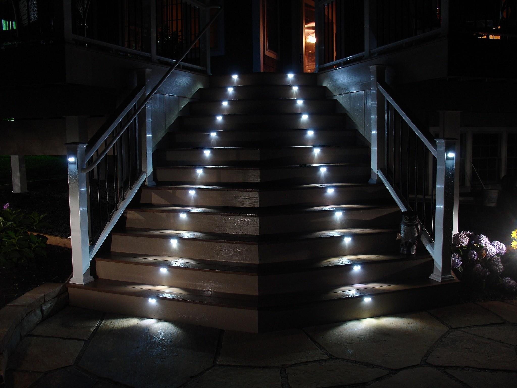 Illuminating Interior Exterior Stairs Lighting Llc