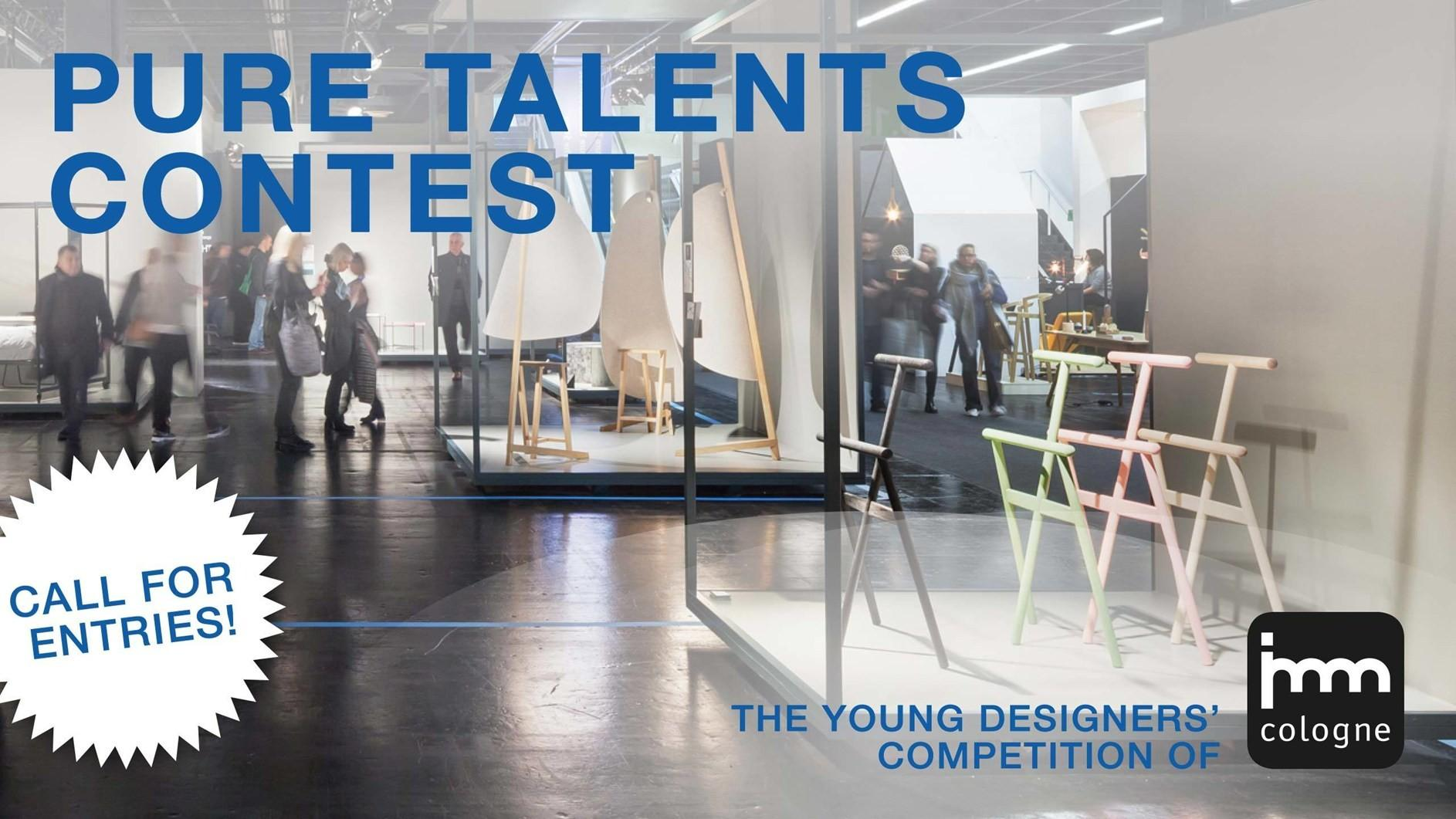 Imm Cologne 15th Pure Talents Contest Now Open