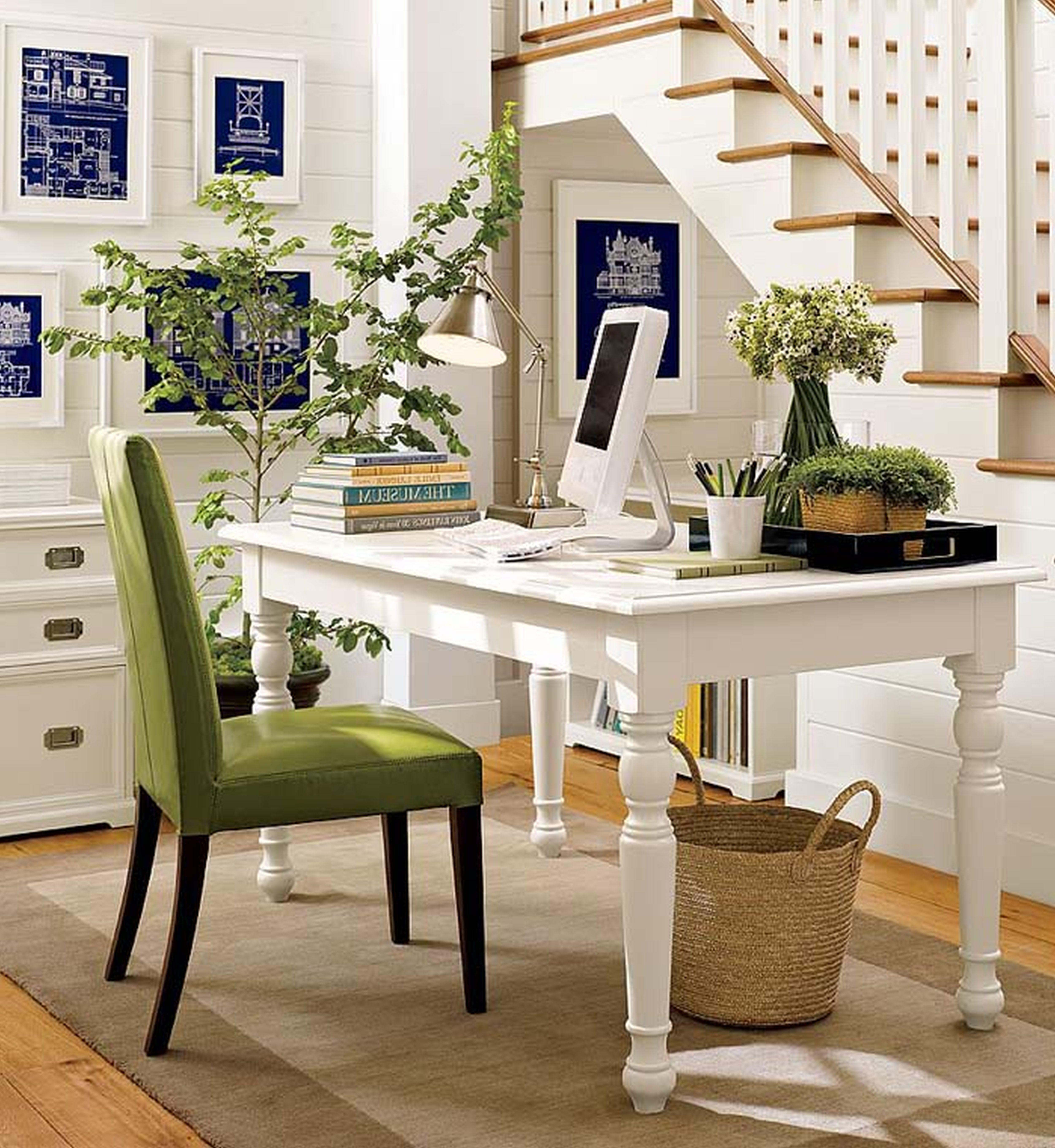 Immaculate White Home Office Themes Added Stained