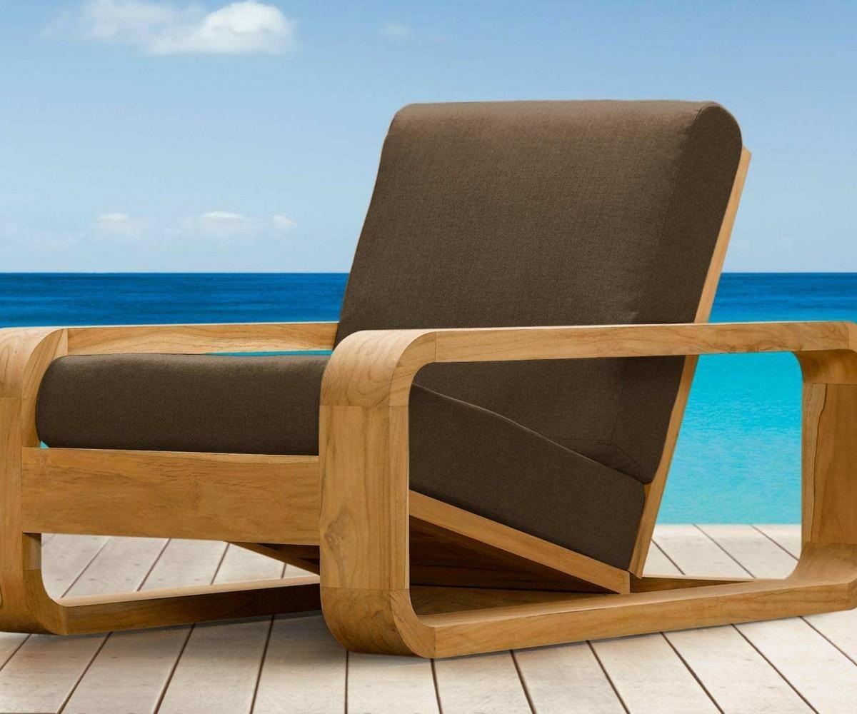 Impeccable Outdoor Lounge Chair Teak
